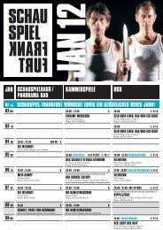 reise! - Schauspiel Frankfurt