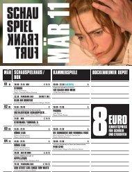 horror vacui - Schauspiel Frankfurt