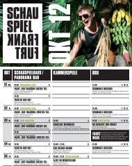 FauSt. Der tragöDie zweiter teil - Schauspiel Frankfurt