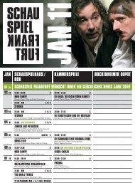liebelei - Schauspiel Frankfurt