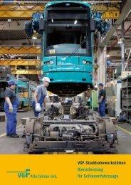 VGF-Stadtbahnwerkstätten Dienstleistung für Schienenfahrzeuge