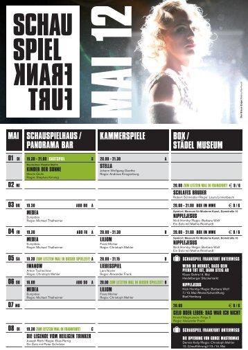 a 20.00 - Schauspiel Frankfurt