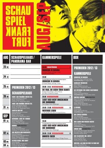 faUst. Der tragÖDie erster teil - Schauspiel Frankfurt