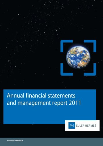 Annual financial statements 2011 - Euler Hermes ...