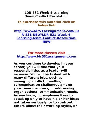 Week 4 Addressing Challenges of Groups and Teams Essay