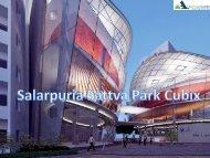 Salarpuria Group Park Cubix