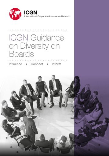 ICGN Guidance on Diversity on Boards