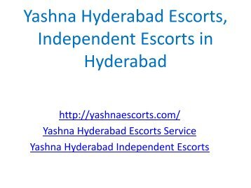Yashna Hyderabad Escorts, Independent Escorts in Hyderabad