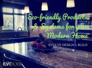 Eco-Friendly Products & Systems For Your Modern Home