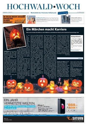 Hochwald Woch 22.10.2016