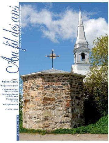Sainte-Claire - Société historique de Bellechasse