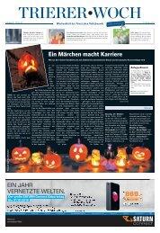 Trierer Woch 22.10.2016