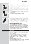 Philips Electric shaver - User manual - FIN - Page 7