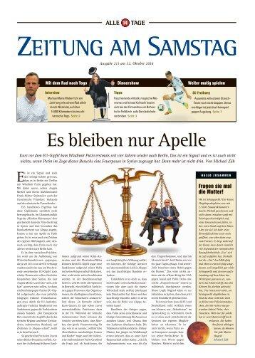211. Ausgabe, ET 22.10.2016