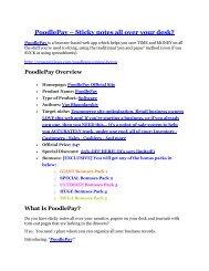 PoodlePay Review-MEGA $22,400 Bonus & 65% DISCOUNT