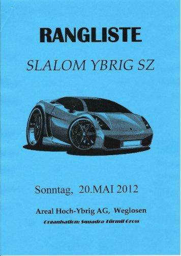 ngliste slalom ybrig - Autosport Ranglisten