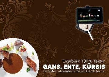 BASIC Textur - Gans, Ente, Kürbis