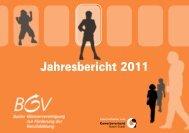 Jahresbericht 2011 - KMU-Channel Gewerbeverband Basel-Stadt