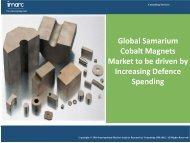 Samarium Cobalt Magnets | Industry Report 2016-2021