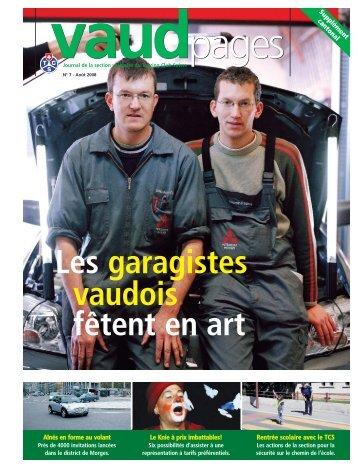 Vaud pages - Viaggi & Svaghi TCS