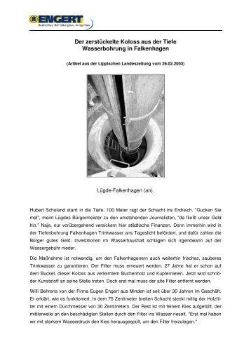Der zerstückelte Koloss aus der Tiefe - Eugen Engert GmbH
