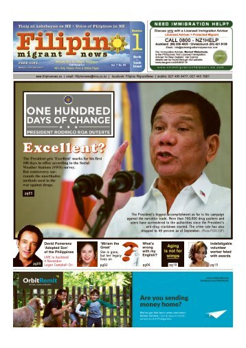 Filipino News OCT 2016