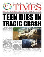 Caribbean Times 20th Issue - Friday 21st October 2016