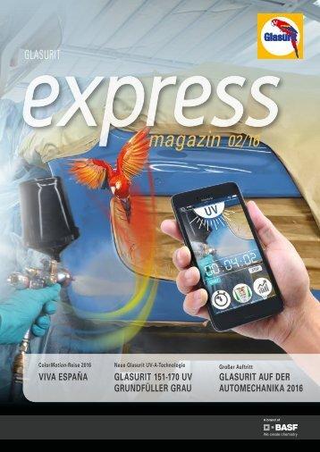 Glasurit express magazin 02.16