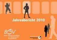Jahresbericht 2010 - KMU-Channel Gewerbeverband Basel-Stadt