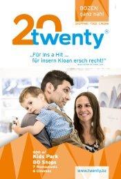 TWENTY - Bozen - Neue Werbekampagne