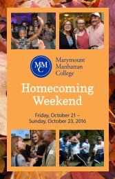 Homecoming Weekend 2016