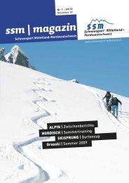 ssm | magazin - Regionalverband Schneesport Mittelland