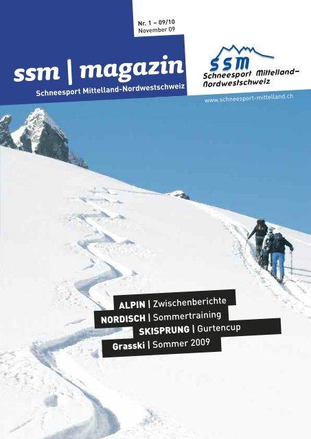 ssm   magazin - Regionalverband Schneesport Mittelland