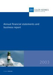 Annual financial statements and business report - Euler Hermes ...