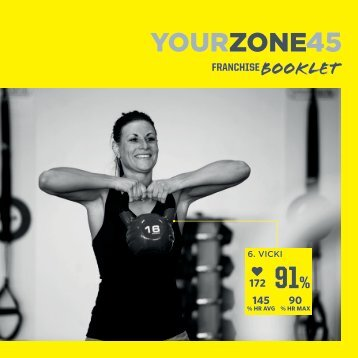 YourZone45 Franchise Booklet