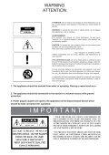 Advance Amplificateur HiFi Advance X-A220 - notice - Page 3