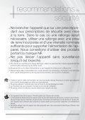 Astoria Nettoyeur vapeur Astoria NN320A - notice - Page 7