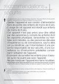 Astoria Nettoyeur vapeur Astoria NN620A - notice - Page 6