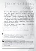 Astoria Nettoyeur vapeur Astoria NN620A - notice - Page 7