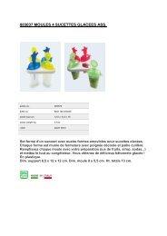 Atelier Cuisine Accessoire culinaire Atelier Cuisine 4 empreintes - fiche produit