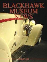Summer 2005 Newsletter - Blackhawk Museum