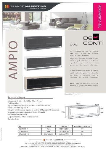 Αποτέλεσμα εικόνας για De Conti AMPIO