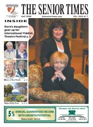 May 2009 - The Senior Times