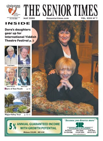 May 2009 - The Senior Times