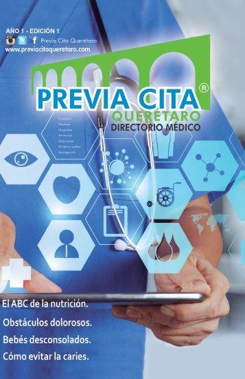 Edición 1 Previa Cita Querétaro