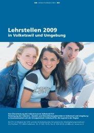 Lehrstellen 2009 - Industrieverein Volketswil