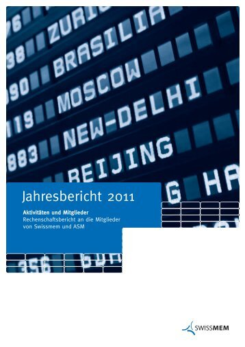 110266 Jahresbericht IH D - Swissmem