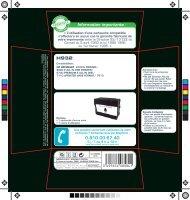 Essentielb Cartouche noire Essentielb H932XL Noire - fiche produit