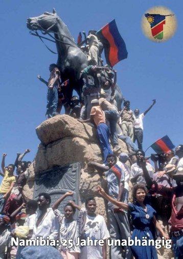 Namibia: 25 Jahre unabhängig