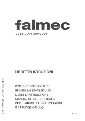 Falmec Groupe aspirant ou filtrant Falmec GRUPPO 3330 - notice